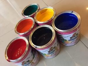 رنگ های ساختمانی